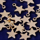 8*6mm Star Stamping Blanks Ready to engrave Stamping Supplies bracelet 20pcs