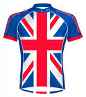Primal Wear United Kingdom Union Jack Cycling jersey Men's bike bicycle Britain