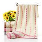 Cotton  Bamboo Soft Fiber Towel Solid Travel Camping Towels Wash Cloth Hand