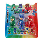 6/3pcs Set PJ Masks Catboy Owlette Gekko Cloak Aktion Figuren Kinder Toy PVC