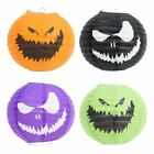 1 or 2 - Halloween Party Decorations Pumpkin Hanging Paper Lanterns Theme Spooky