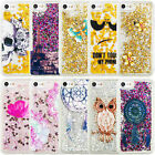 Hot Dynamic Quicksand Shockproof Liquid Glitter Slim TPU Cover For Apple Samsung