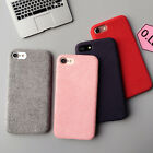 Ultra Fabric Phone Case Short Plush Texture Silicone Phone Covers for iPhone7 7P