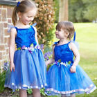GIRLS KIDS DELUXE FLOWER FAIRY PRINCESS COSTUME PARTY DRESS OUTFIT AGE  2 3 4 5
