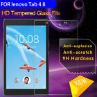 For Lenovo Tab 4 8 10 Plus HD Tempered Glass Tablet Screen Protector Film Case