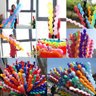 10/50pcsTwist Spiral Long Latex Balloons Wedding Birthday Party Decoration Decor