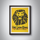 THE LION KING - MUSICAL POSTERS - A4 - A3 - Home / Office / Wall Art 170GSM