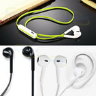 Earpiece Wireless Bluetooth 4.1 Headset Stereo Headphone For Most Cellphones New