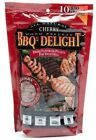 BBQrs Delight 2 x 1 lb BBQ Pellets Barbecue Smoking Wood Chips BBQ'rs Variety