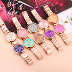 Luxury Geneva Women Bracelet Stainless Steel Analog Quartz Wrist Watch Watches