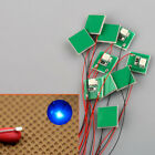 DD00W 10pcs Pre Wired Bright/Warm White/Red BlSMD 3528 Led Lamp Light Set 12~18V