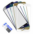 Front Glass Lens Touch Screen Replace For Samsung GALAXY S6 Edge G9250+Free Tool