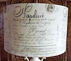 Old Script Lamp shade Shabby Chic french decoupage black &white Free Gift