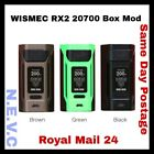 NEW Wismec RX2  20700 BOX MOD  200W. Free same day RM 24shipping