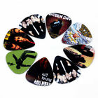 10pcs Green Day Rock Band Guitar Picks Plectrums Both Sides Your Choice Size