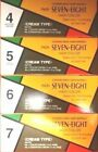 1 PCS, PAON SEVEN-EIGHT CREAM TYPE, HAIR COLOR, 4, 5, 6, 7
