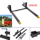 New 1500bs Clamp on Pallet Bucket Forks Loaders Tractor Chain Stabilizer Bar Car
