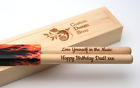 Personalized drum sticks 5A, high quality maple wood, gift box | Custom Engraved