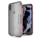 For iPhone X / iPhone XS Case | Ghostek CLOAK Slim Clear Shockproof Bumper Cover