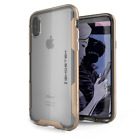 iPhone X 10 Case | Ghostek CLOAK Slim Clear Shockproof Cover + Wireless Charging <br/> 6 Colors | Face ID Compatible | Military Grade Tested