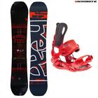 set tavola snowboard head course dct 150 153 156 + attacchi rage FT