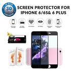 Full Front Cover Tempered Glass Screen Protector For iPhone 6/6S & 6 Plus