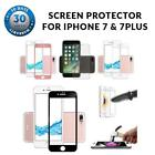 Full Front Cover Tempered Glass Screen Protector For iPhone 7 & 7 Plus