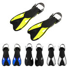Adult Compact Snorkeling Fins Scuba Diving Swimming Training Adjust Flippers