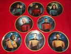 STAR TREK THE NEXT GENERATION 5TH ANNIVERSARY COMMEMORATIVE COLLECTORS PLATES