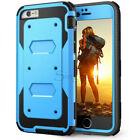 Shockproof RUGGED ARMOR Slim Hard Phone Case Cover w- BUILT-IN SCREEN PROTECTOR