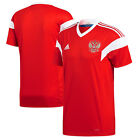 adidas Russia FIFA WC World Cup 2018 Home Soccer Jersey Red Kids Youth