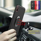 Luxury Ring Holder Stand Hybrid Soft Back Case Cover For iPhone X 8 6s 7 Plus
