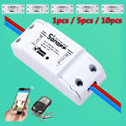 1/5/10PC Sonoff WiFi Wireless Smart Switch Module ABS Shell Socket for DIY Home