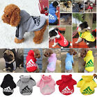 Large Dog Jacket Casual Small Clothes Coat Hoodie Winter Costume Sweatshirt Pet