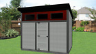 STEEL GARDEN SHEDS, CONTEMPORARY STORAGE SHEDS, SHED, LEAN TO SHED, SHEDS FOR SA