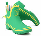 *New* Evercreatures Funky Wellies Fresh Green  Ankle Wellington Boots Sizes 3-8