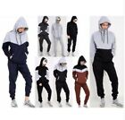 Mens Tracksuit Set Fleece Hoodie Top Bottoms Jogging Joggers Boys Sweatshirt XL