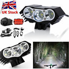 2/3 CREE 8000Lm XML T6 LED Front Headlamp Bike Light Headlight+Tail light