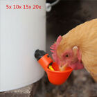 Lot Poultry Water Cups Chicken Chick Hen Plastic Automatic Drinker Quail OBO