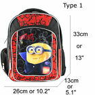Vampire Minions Kids Backpack Boys Girls School Bag Kindergarten Cartoon Bagpack