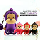 Monkey Usb Memory Stick 8GB 16GB 32GB Cartoon Usb Flash Drive Cute Pen Drive
