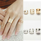 Fashion 3pcs/set Fashion Top Of Finger Adjustable Open Ring Jewelry Gift Tsca