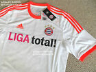 L XL XXL 3XL ADIDAS BAYERN MUNICH AWAY SHIRT jersey football soccer calcio TAGS