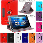 2018 Kindle Fire HD 8 fire7 Case Cover Uni 360° Stand leather Smart Case Covers