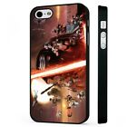Star Wars Episode 7 Movie BLACK PHONE CASE COVER fits iPHONE £4.95 GBP