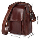 Men's Travel Easy to Carry Sling Messenger Crossbody Small Bag Documents Purse