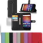 """Wallet Holder Folio Leather Shell Pouch Case Shell For 6"""" Huawei Ascend XT(H1611"""