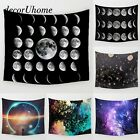 Fantasy Decoration  Space Moon Plant Star Wall Carpet Home Hanging Wall Tapestry
