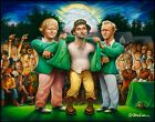 The Green Jacket. A Tribute to Carl Spackler and 1980 Giclée Unframed Print