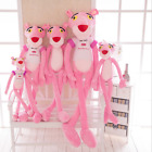 Naughty Animal Pink Panther Plush Toys Animated Stuffed Soft Toy Kids Gift Dolls
